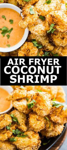 Air Fryer Coconut Shrimp Seafood Recipes, Beef Recipes, Healthy Recipes, Savoury Recipes, Lunch Recipes, Best Appetizers, Appetizer Recipes, Delicious Dinner Recipes, Yummy Recipes