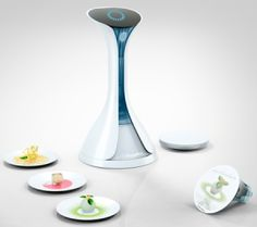 Moleculair 3D Food Printer, future Kitchen, Gadget, electrolux, device, Nico Klaber, food, 3d, printer, futurism, future, concept, innovatio by FuturisticNews.com