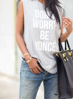 Don't Worry, Be Yonce.