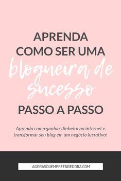 Quer ser uma bloguei