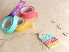 colección de cuatro #washis diseñados por @mylittlehannah para @escrap