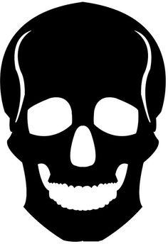 skull template by lilymolly2004, via Flickr