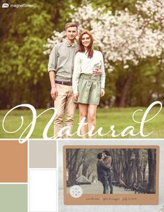 Custom Tan, Sugar, Sage, and White Spring Wedding Color Palette | Wedding Color Trends | MagnetStreet Weddings