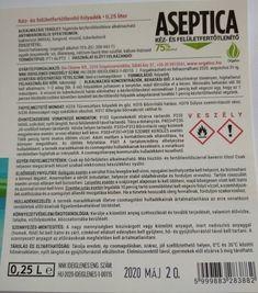 Bio Cleaner Aseptica kéz- és felületfertőtlenítő szórófejes 0,25 liter - Aseptica kéz- és felületfertőtlenítő folyadék Bio Cleaner - Bio tisztítószerek, környezetbarát tisztítósterek, öko tisztítószerek - Bio-Cleaner Kft, Orgalco bio tisztítószerek Alcohol