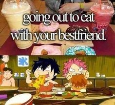 hehehe xD but when have gray and natsu ever been best friends?