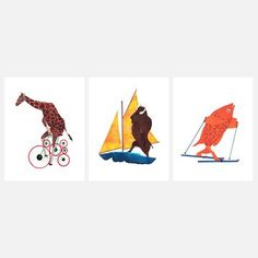 My design inspiration: Animals In Transit on Fab.