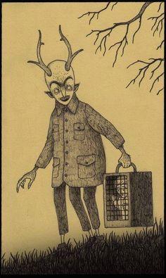 John Kenn Mortensen (1978): guionista, animador y director de programas televisivos infantiles de día; ilustrador de monstruos, fantasmas y demonios de noche. Un tipo entregado a la bipolaridad, sin duda. La disciplina personal y la dedicación han...
