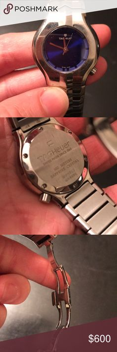 Tag Heuer watch Woman's tag watch, needs battery and polishing. Tag Heuer Accessories Watches