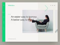 Interaction design for Wandoo Finance