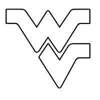 West Virginia pattern Use the printable outline for crafts