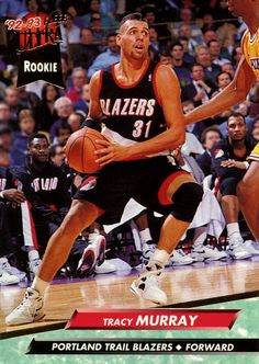 Tracy Murray 92-93 Fleer Ultra