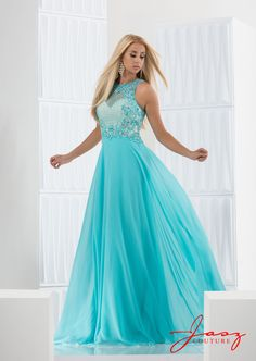 Jasz Couture 5617 Turquoise