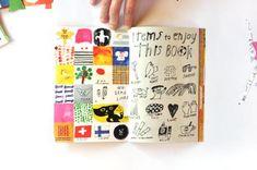 Kosho Kosho by Mogu. Journal D'art, Sketch Journal, Artist Journal, Creative Journal, Art Journal Pages, Art Journals, Visual Journals, Moleskine, Illustrations