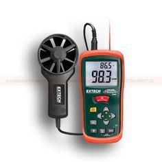 http://handinstrument.se/luftflodesmatare-r615/anemometer-cfm-cmm-53-AN100-r630  Anemometer CFM / CMM  Samtidig visning av luftflödet eller lufthastigheten plus omgivningstemperatur  Lätt att ställa området mått (cm 2) lagras i mätarens interna minne  20 punkters genomsnitt för luftflöde  3% Hastighetsnoggrannhet via låg friktion med kullager. Skovelhjul 72mm diameter och kablagelängd på 120cm Garanti: 2 År