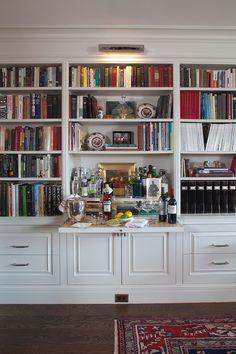 pull out bar shelf