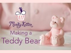 A step by step tutorial on how to create a cute little sugar craft Teddy Bear which can be used on various cakes from christenings to birthdays! The tools I ...
