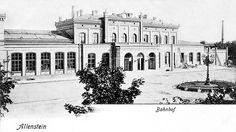 Dworzec Główny dawno dawno temu.