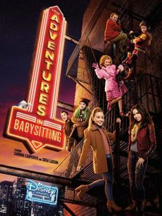 Sabrina Carpenter and Sofia Carson star in the new Disney Channel movie Disney Channel Movies, Walt Disney Movies, Disney Channel Original, Film Disney, Original Movie, Night Film, Baby Sitting, Sofia Carson, Adventures In Babysitting 2016