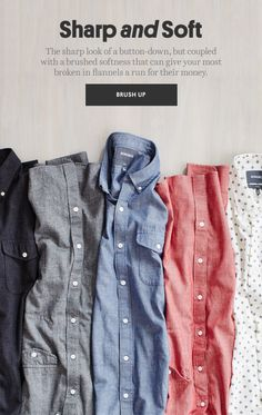 Big fan of the brushed buttondowns from Bonobos!