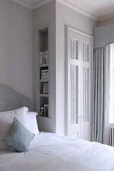 Design, furniture and decorating ideas. small bedroom wardrobe, bedroom storage for small rooms, small bedrooms, built in wardrobe Bedroom Built In Wardrobe, Bedroom Built Ins, Small Master Bedroom, Master Bedroom Makeover, Closet Bedroom, Bedroom Storage, Home Bedroom, Wardrobe Design, Bedroom Ideas
