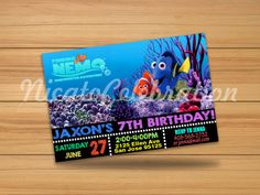 Shop for on Etsy, the place to express your creativity through the buying and selling of handmade and vintage goods. Finding Nemo, Digital Invitations, San Jose, Handmade Gifts, Etsy, Vintage, Handcrafted Gifts, Saint Joseph, Hand Made Gifts