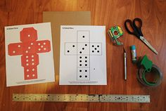 Lessontoolbox Dice Template Pdf Lqsscience General Pinterest