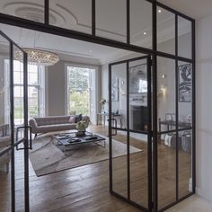 Absolutely love these crittall Windows. Definitely going to use them in our current project #art #decoracion #ad #interior_design #lighting #decoração #beautifulhomes #homedecor #designporn #instahome #interiores #interiordesign #interiorstyling #interiordesigner #arquitetura #ksa #classyinteriors #instadecor #instadesign #dreamhome #homedesign #arquitectura #neutrals #designdeinteriores #interiors #diseñodeinteriores #home by 1nteriors http://discoverdmci.com
