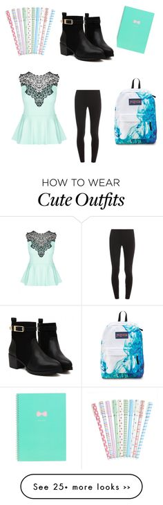 """""""School outfit"""" by ivypumpkin on Polyvore featuring City Chic and Splendid"""