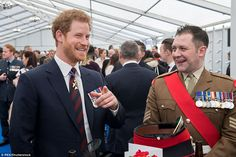 The Duke of Cambridge told a former comrade of Prince Harry he hoped his younger brother had not given him 'lip' when they served alongside each other in Afghanistan