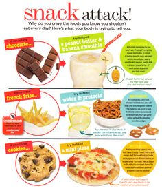 What your body is trying to tell you through your cravings #snacks #health #fitness #healthy