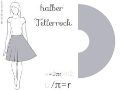 Der Tellerrock inklusive Variationen   von mri Natural Dye Fabric, Thank You Quotes, Handmade Skirts, Ballroom Dance, Dance Outfits, Couture, Be Yourself Quotes, Skirt Fashion, Picture Quotes