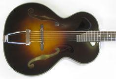 Hamm-tone Olympic (Copy of 1941 Epiphone Olympic)   Hamm-tone Guitars and Luthier Training