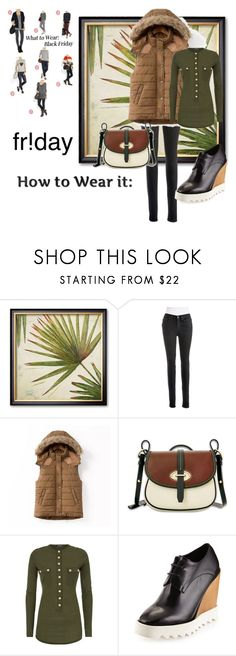 """""""What To Wear on Black Friday"""" by peppermax ❤ liked on Polyvore featuring Calvin Klein Jeans, Dooney & Bourke, Balmain and STELLA McCARTNEY"""