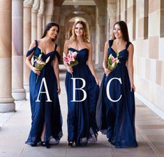 Royal Blue Bridesmaid Dress, Long Bridesmaid Dress, Elegant Bridesmaid Dress, Formal Bridesmaid Dress, Mismatched Bridesmaid on Storenvy Prom Party Dresses, Wedding Dresses, Homecoming Dresses, Royal Blue Bridesmaid Dresses, Mismatched Bridesmaid Dresses, Dress Long, Dress Formal, Wedding Ideas, Wedding Pictures