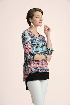 This eye-catching mosaic print will add an artsy #spring flair