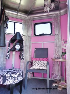 """From the post """"Horse Trailer Glam"""""""