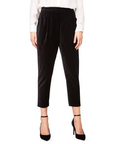 Pantaloni in velluto, Nero