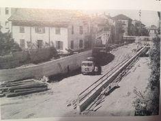 """Legnano, Costruzione sottopassaggio di """"Alberto da Giussano"""", 1939"""