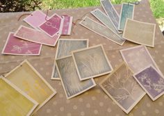 icoloridilaura: Come preparare acquerelli naturali...tutorial