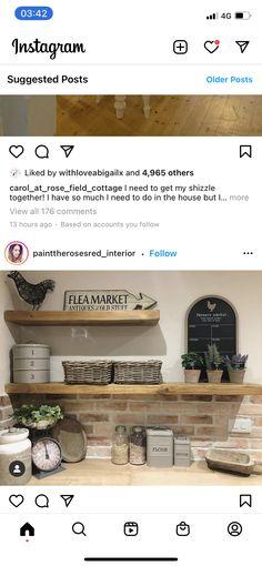 Bathroom Medicine Cabinet, Floating Shelves, Kitchens, Interior, House, Home Decor, Decoration Home, Indoor, Home