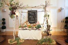 花どうらく/ウェディング/hanadouraku/http://www.hanadouraku.com/bouquet/wedding/ドライフラワー/白樺/キャンドル/アーチ/メインテーブル/アンティーク