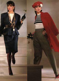 Glamour Magazine April 1986 / Chanel Conde Nast Archive