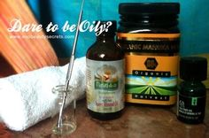 DIY Oil Cleansing Facial for Congested