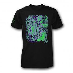 #Spozard by #Blacksheephybrid 100% combed #cotton fitted #tshirt. #professional ly #screenprint using a long lasting #blacklight reactive #ink . http://enkienterprise.com