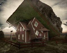 Image: Erik Johansson: 'Intersecting planes' (© Erik Johansson)