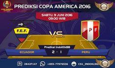 Prediksi Copa America 2016 Grup B Ecuador vs Peru akan berlangsung pada tanggal 9 Juni 2016 pada jam 09.00 Waktu Indonesia Bagian Barat. Pertadingan ini akan berlangsung di Stadion University of Ph…