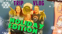 SANTAS IN SPEEDOS || Trip Vlog #1