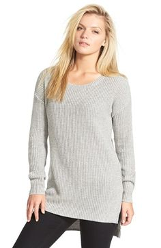 BP. Textured Knit Pullover   Nordstrom   Size Small   Gray Med Heather Autumn Marl