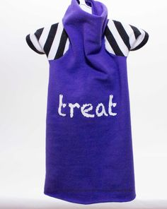 """Cat Halloween Costume Sphynx cat clothes Costume for Pets """"Treat"""" Shirt with strange stripe Sleeves cat clothing dog clothes Halloween by SimplySphynx #etsy #etsyseller #simplysphynx #sphynx #sphynxcat #sphynx #catclothes #sphynxcatclothes"""