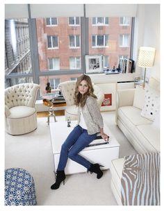 The Olivia Palermo Lookbook : Olivia Palermo's Tribeca Apartment